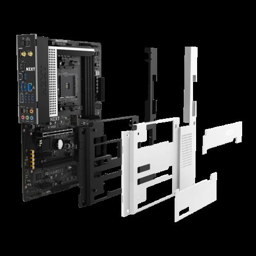Bild: NZXT N7 B550: AM4-Mainboard mit vielen Features und außergewöhnlichen Design