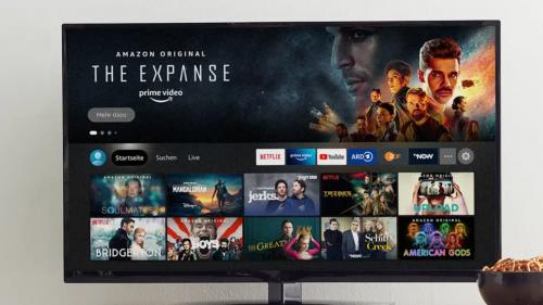 Amazon rollt neue Fire-TV-Oberfläche für mehr Geräte aus