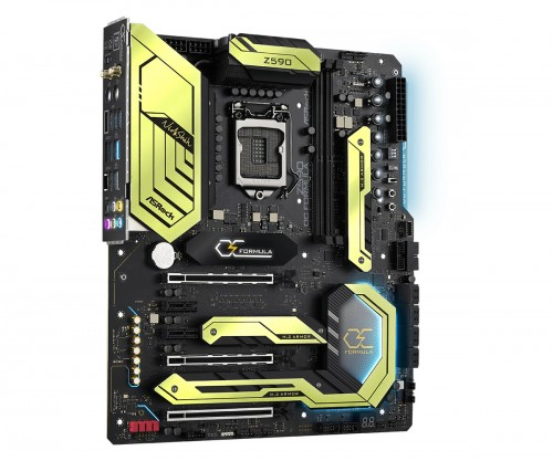 ASRock Z590 OC Formula: High-End-Mainboard mit Sockel LGA 1200