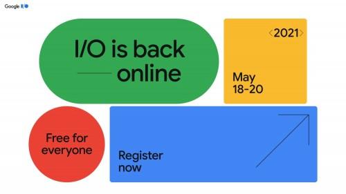 Google I/O für Mai 2021 geplant