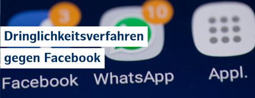 Facebook soll Nutzung von WhatsApp-Daten untersagt werden
