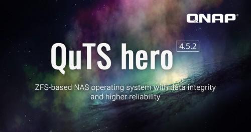 QuTS hero h.4.5.2: NAS-Betriebssystem auf Basis des ZFS-Dateisystems