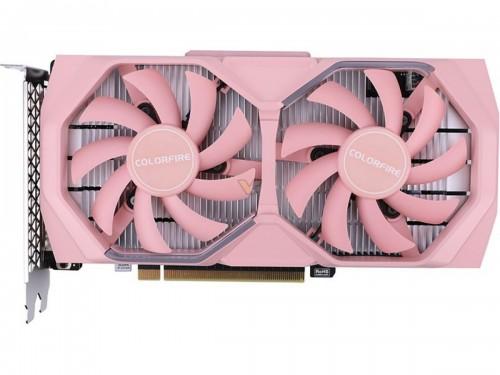 Colorful zeigt pinke Nvidia-Grafikkarten als Colorfire