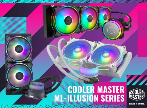 Cooler Master MasterLiquid Illusion: AiO-Wasserkühler mit ARGB-LEDs