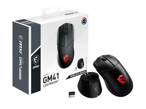 Bild: MSI Clutch GM41 Lightwight Wireless: Eine leichte und kabellose Gaming-Maus