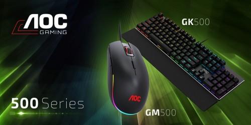 AOC stellt neue Gaming-Tastaturen und Gaming-Mäuse unter eigenem Namen vor