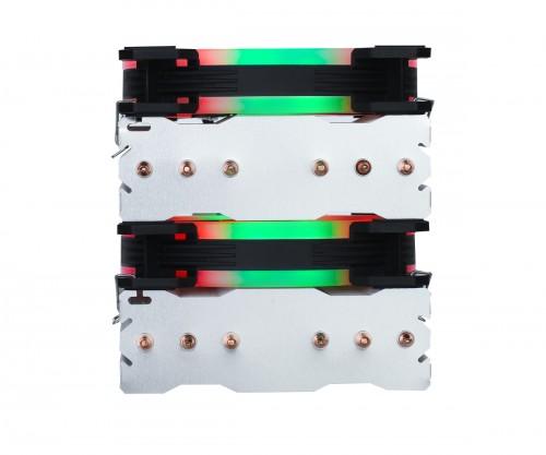 Glacier RGB: CPU-Kühler mit sechs Heatpipes und Twin-Tower-Design