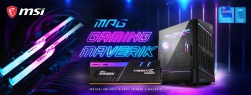 Bild: G.SKILL und MSI stellen neues Maverik-Bundle vor