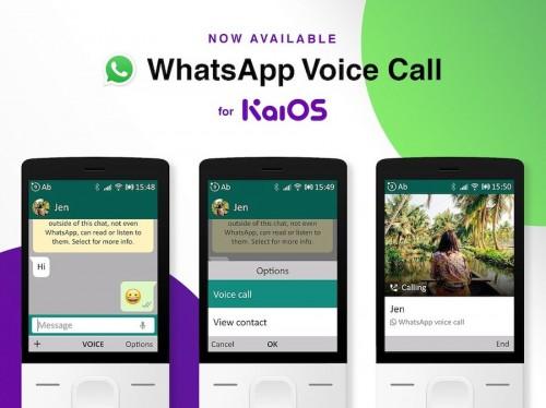 KaiOS: WhatsApp-Update für Voice-Calls