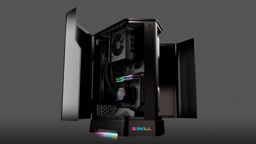 G.SKILL Z5i: Mini-ITX und SSF-Gehäuse im Fünfeck-Design