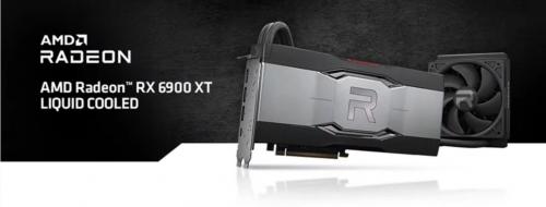 Radeon RX 6900 XT LC: High-End-Grafikkarte mit AiO-Wasserkühlung