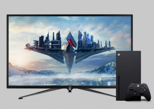 Asus ROG Strix XG43UQ: Gaming-Monitor in der Xbox-Edition