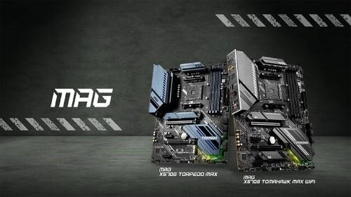 Bild: MSI MAG X570S: Neue Mainboards ohne aktiven Kühler
