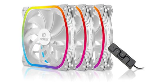 Enermax SquA RGB: Neue RGB-Lüfter in Weiß als 3er-Pack veröffentlicht