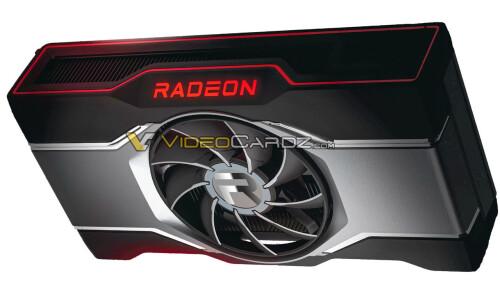 AMD Radeon RX 6600 XT: Erstes Renderbild einer Single-Fan-Grafikkarte