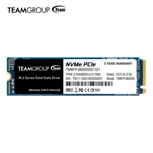 TeamGroup MP34Q: M.2-SSD mit bis zu 8 TB für 1.300 US-Dollar