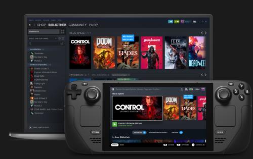 Valve Steam Deck: Leistungsstarker PC-Handheld mit Touchscreen