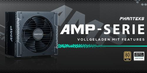 Phanteks AMP-Serie: Neue Netzteile bei Caseking erhältlich