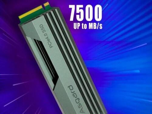 Asgard AN4: PCIe 4.0 SSD mit 128 Layer 3D-TLC-NAND