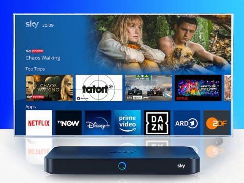 Sky Q über Internet: Neue Pläne des Pay-TV-Senders