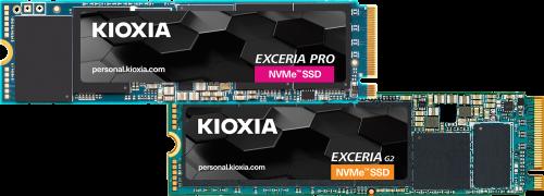 Kioxia Exceria Pro und G2: Neue NVMe-SSDs im M.2-Format
