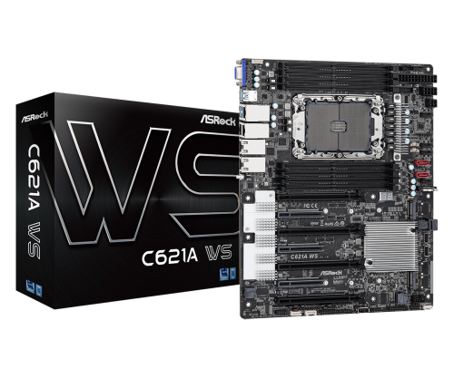 ASRock C621A WS: Mainboard für Intel Xeon Scalable