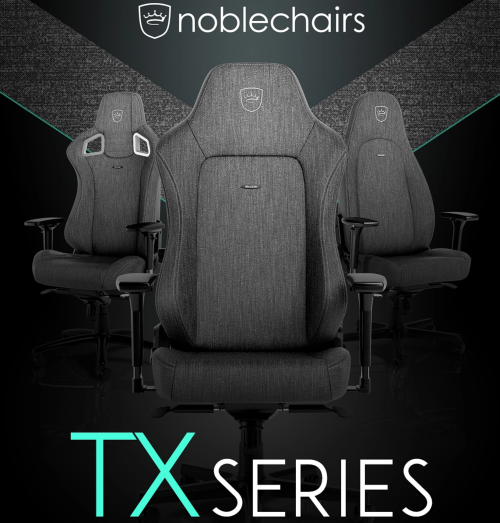Caseking präsentiert die noblechairs TX Series