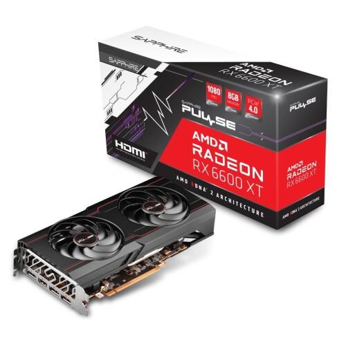 Sapphire Pulse AMD Radeon RX 6600 XT vorgestellt