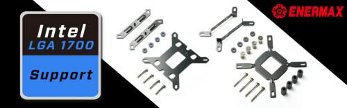 Enermax stellt kostenlose Montage-Kits für LGA-1700-Support zur Verfügung