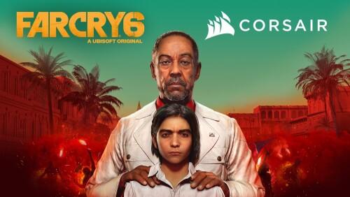 Corsair und Ubisoft arbeiten an immersiven Gaming-Erlebnis für FarCry 6