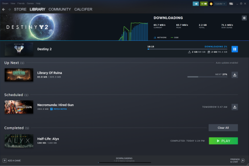 Steam: Neues Update verbessert Download- und Speicher-Management