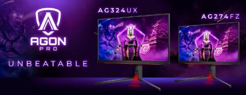 AOC Agon Pro: Neue eSports-Monitore mit HDR, HDMI 2.1 und 1 ms Reaktionszeit