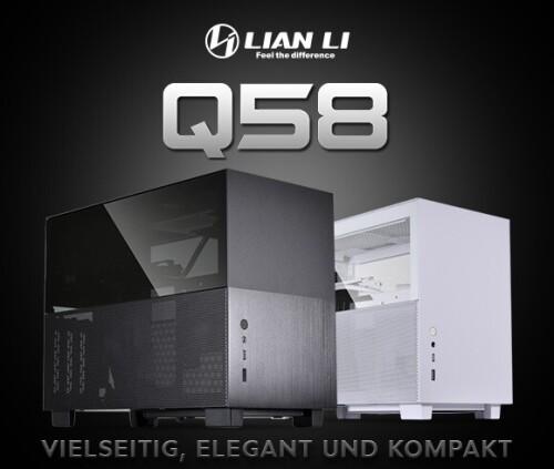 Lian Li Q58X4: Mini-ITX-Gehäuse inklusive PCIe-4.0-Riserkabel