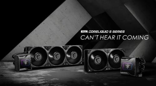 Bild: MSI MEG Coreliquid S: Neue AiO-Wasserkühler mit 0-RPM-Modus