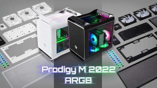BitFenix Prodigy M 2022 ARGB: mATX-Gehäuse im stylischen Design
