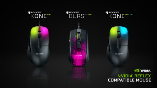 Roccat: Mäuse unterstützen Nvidia Reflex
