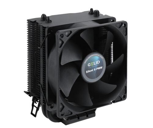 Gelid BlackFrore: Schwarzer CPU-Kühler mit HDC-Technologie