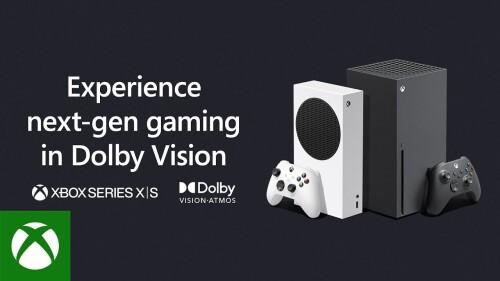 Microsoft schaltet Dolby Vision HDR für die Xbox Series Konsolen frei
