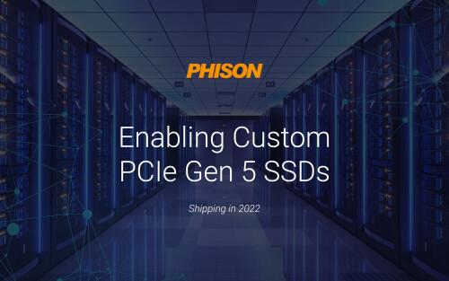 Phison E26: Neuer SSD-Controller mit PCIe-5.0-Unterstützung