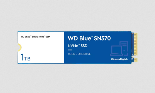WD Blue SN570: NVMe-SSD im M.2-Format mit Adobe Creative Cloud Abo