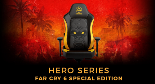 Noblechairs HERO Gaming-Stuhl in der Far Cry 6 Special-Edition