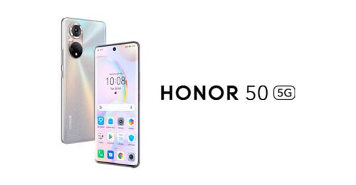 Honor 50 5G: Vollwertiges Android-Smartphones mit allen Google-Diensten