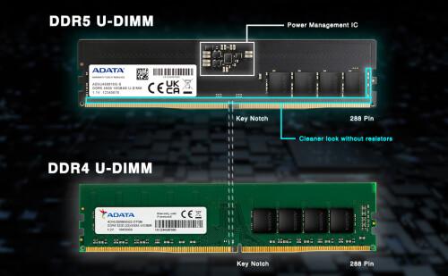 ADATA: Erste DDR5-Module für Alder-Lake-CPUs mit 4.800 MHz